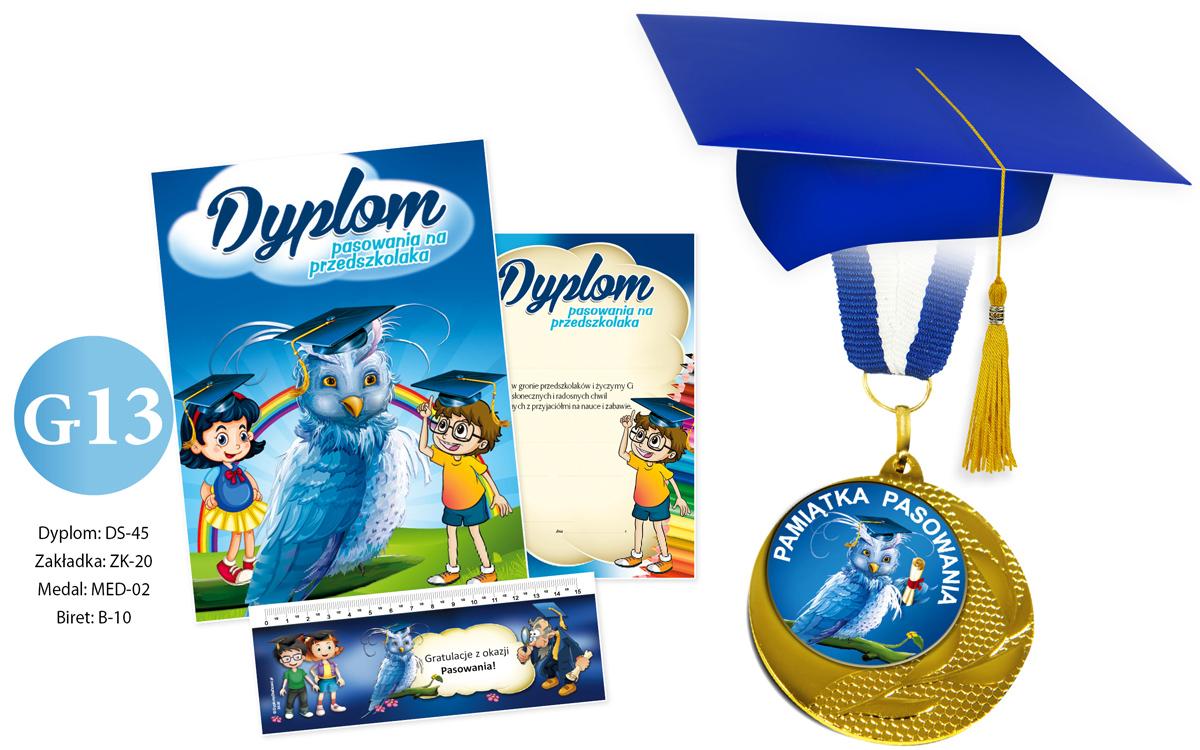 Zestaw Dyplom z Rożkiem Obfitości