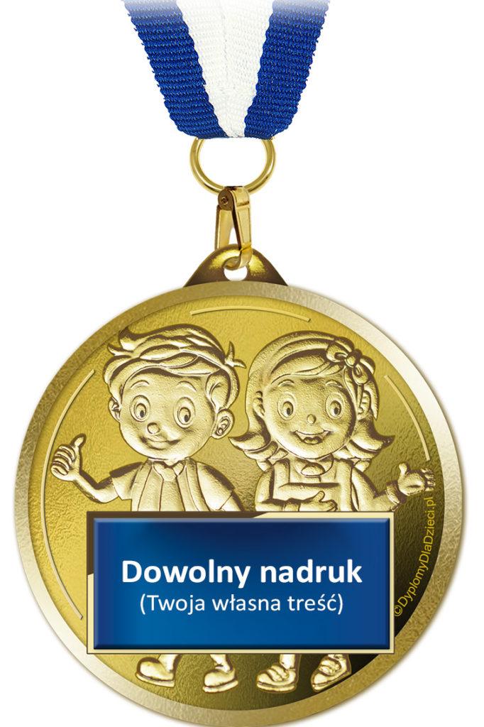 medal dla dzieci z indywidualnym nadrukiem MED-220