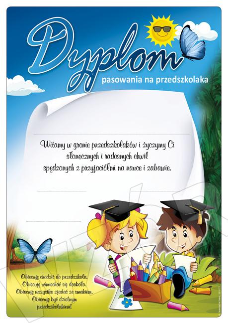 dyplom pasowania na przedszkolaka DP-177